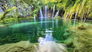 Plitvice lakes and waterfalls, Croatia